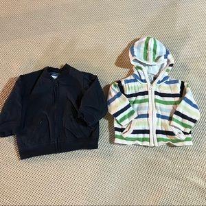 GAP Baby boy spring jacket & sweater bundle